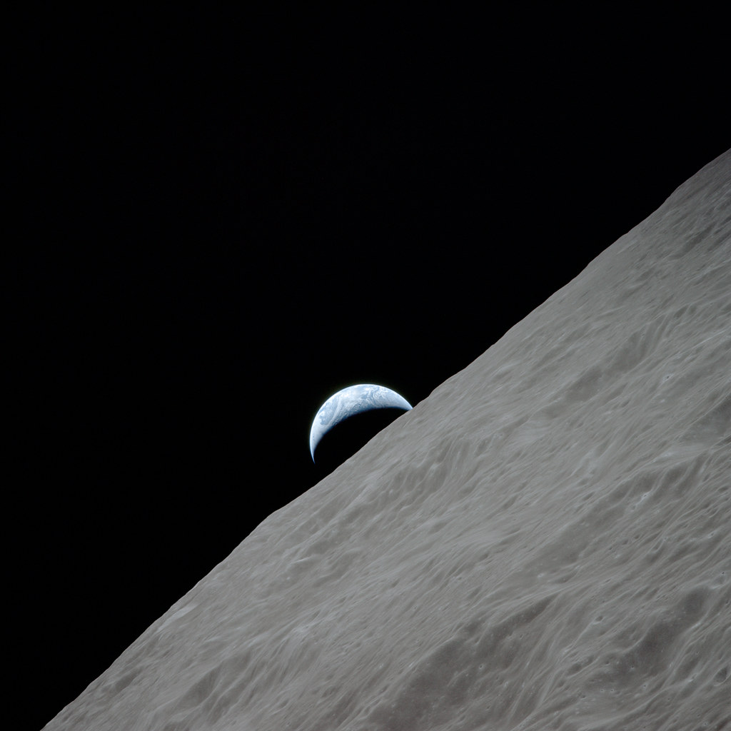 Mooning Over New Missoni: Apollo 17, Earthrise Over Moon