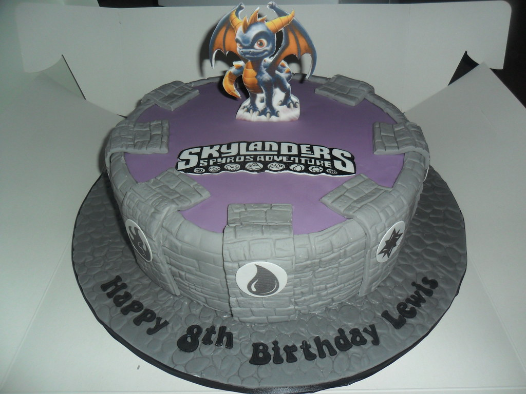 skylanders birthday cake elizabeth Flickr