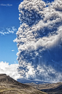 eruption of volcano | by Robert Bentia