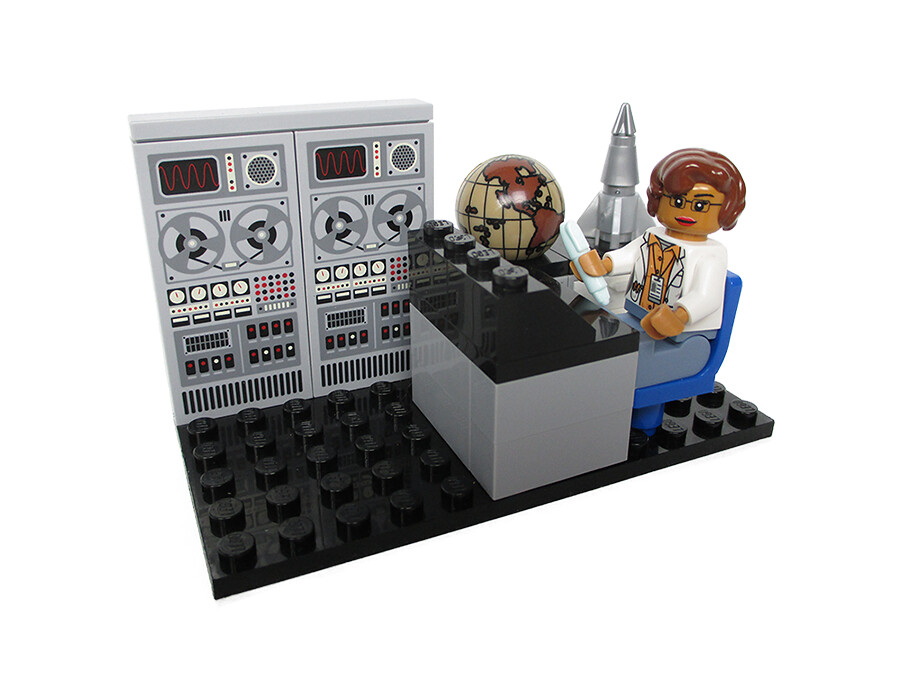 Women of NASA on LEGO Ideas - Katherine Johnson