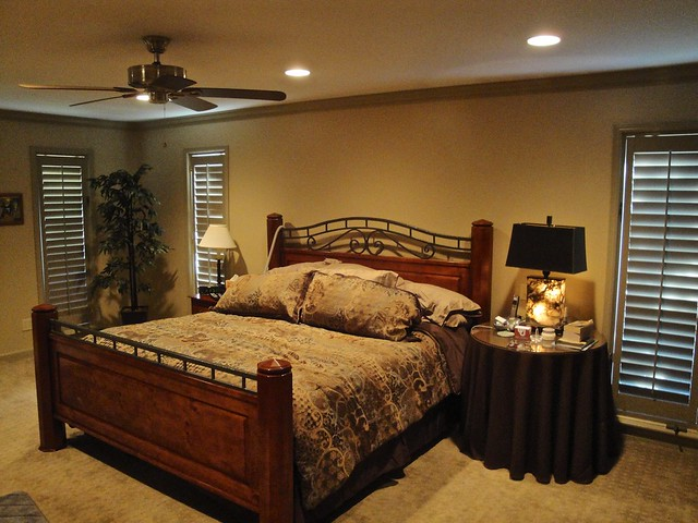 Can lights new ceiling fan in master bedroom flickr - What size ceiling fan for master bedroom ...