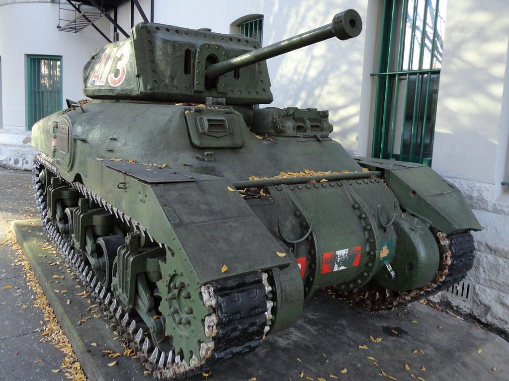 Canadian Ram Mk Ii Cruiser Tank Beatty St Drill Hall