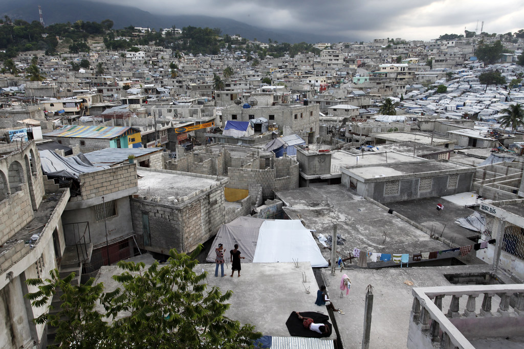 A View Of Delmas 32 A Neighborhood In Haiti Which Many Re Flickr