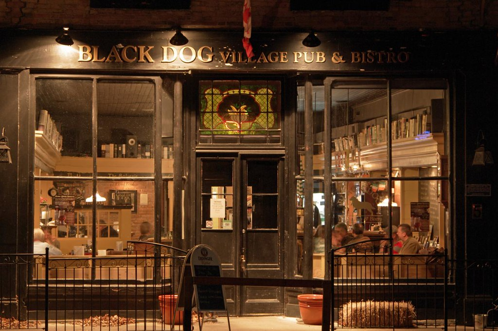 The Black Dog Pub Bayfield