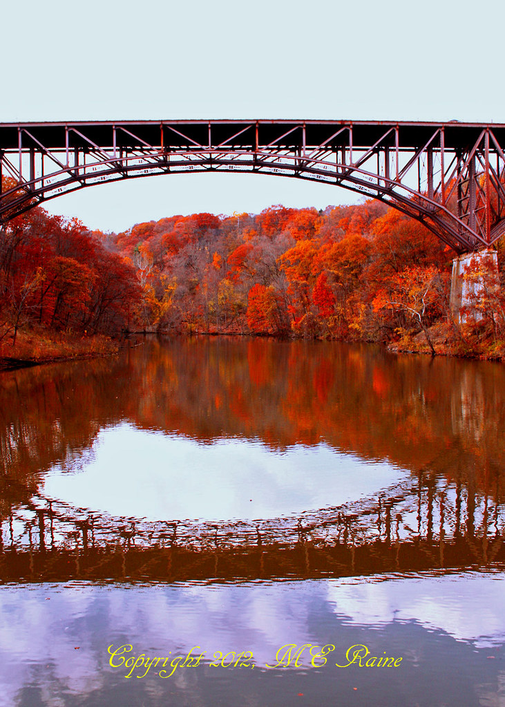 Hudson Ny Map >> Harriman State Park NY Fall Foliage and Reflections with O… | Flickr
