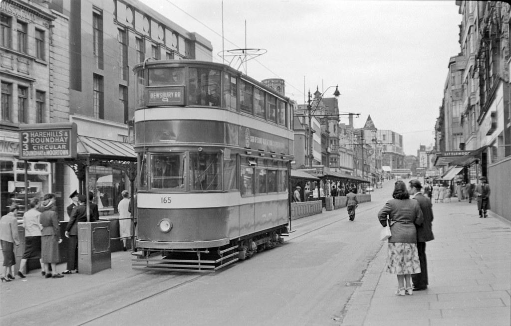 Leeds Tram 165 Leeds Tram Number 165 Is Reaching The
