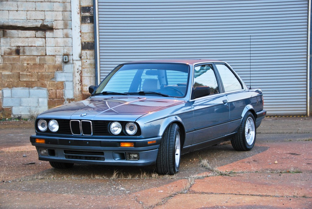 My Cirrusblau E30 1989 325i Dishwab Flickr