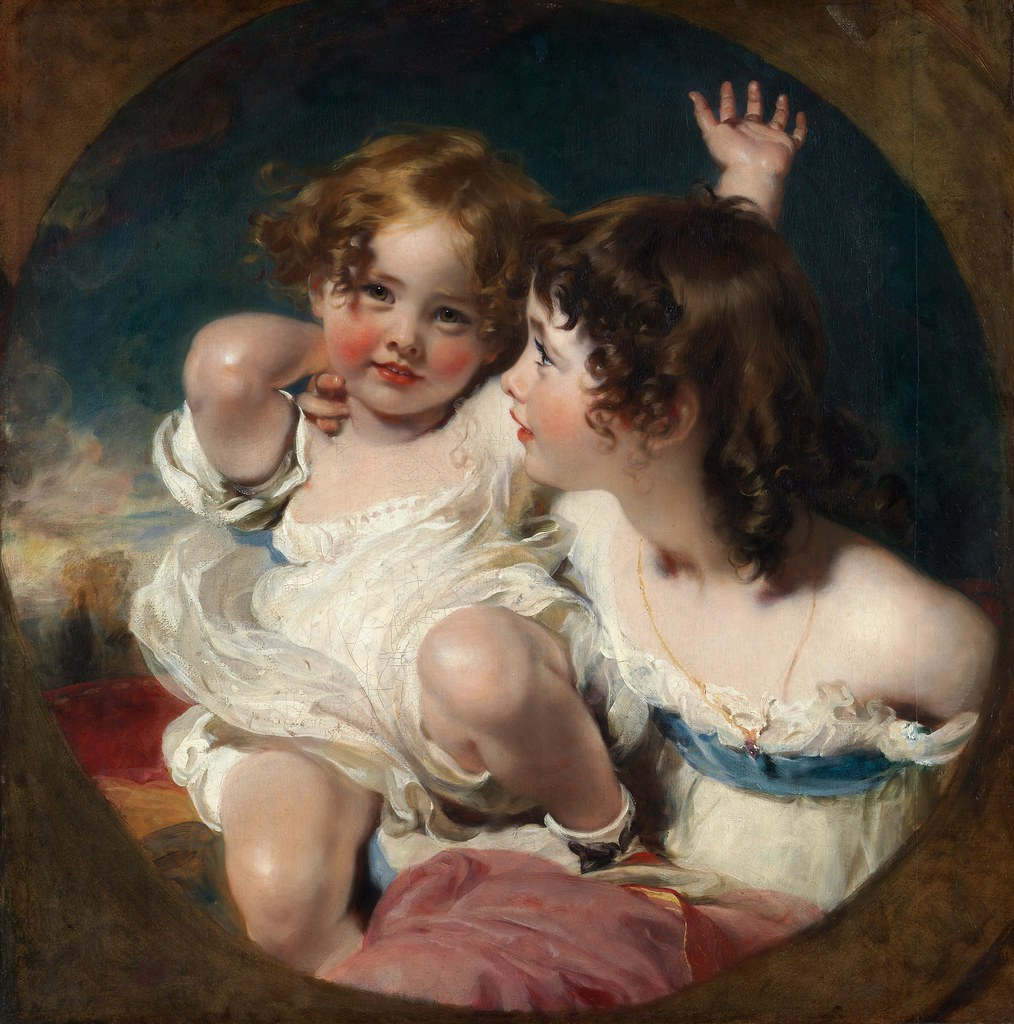 "Image result for Thomas Lawrence ""The Calmady Children"" 1823"