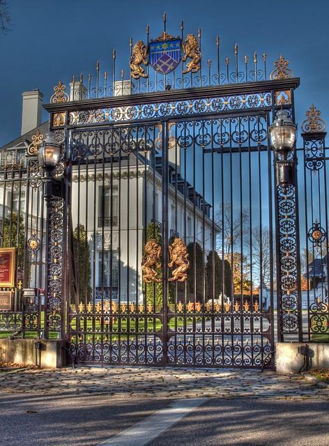 Vernon Court Gate, Newport, RI | Flickr - Photo Sharing!