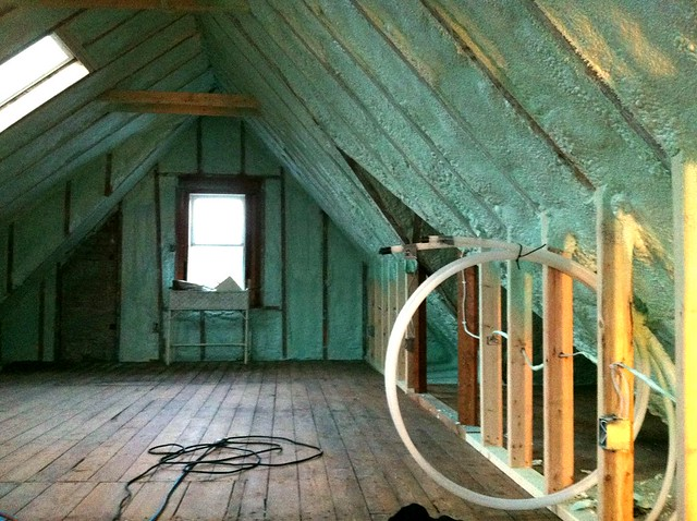 1012 step 3 spray foam insulation yesterday reitzel ins flickr photo sharing - Polystyrene insulation step by step ...