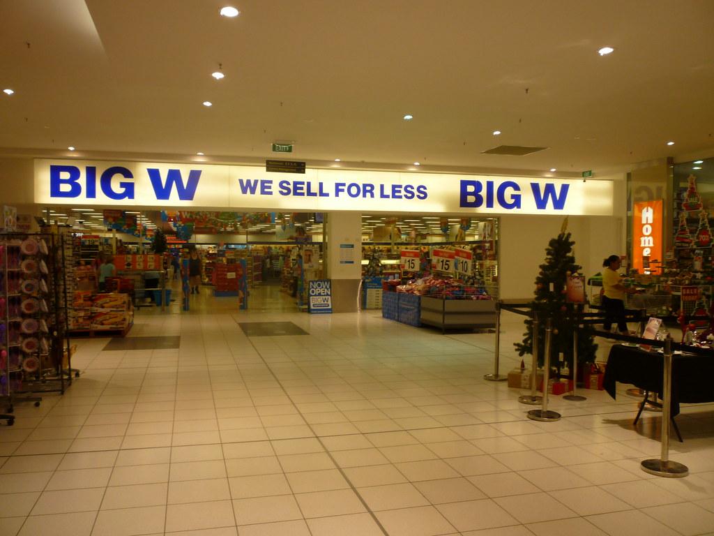 big w - photo #16