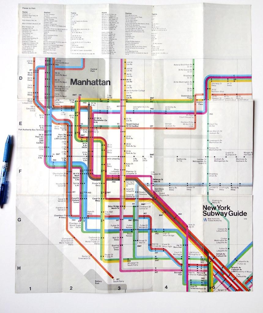 massimo vignelli subway map warymeyers blog flickr