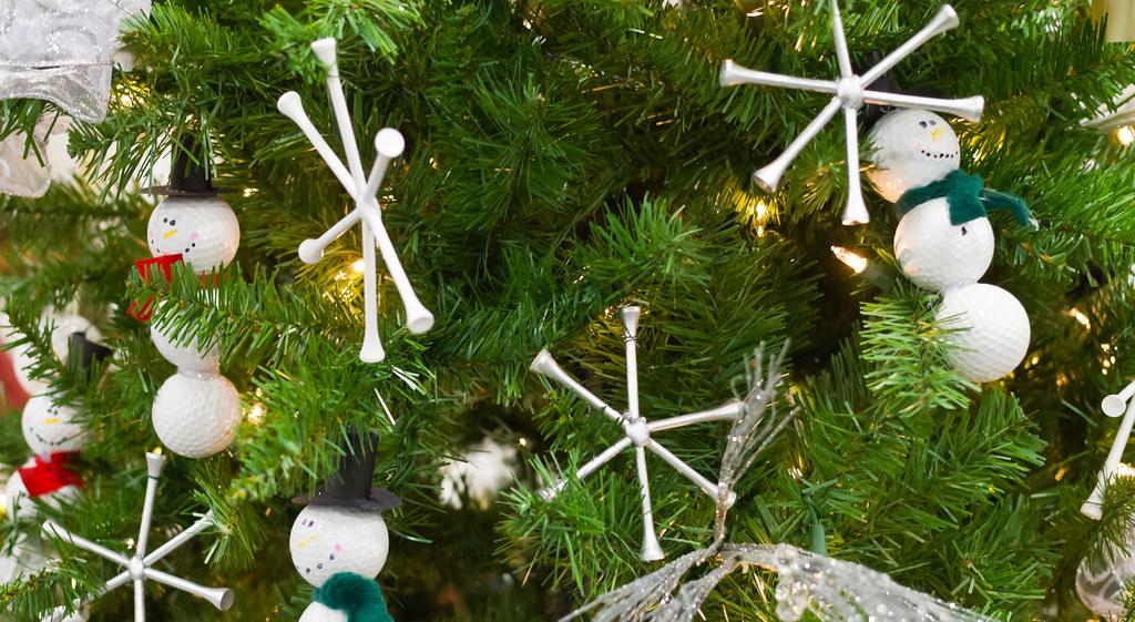 golf christmas tree