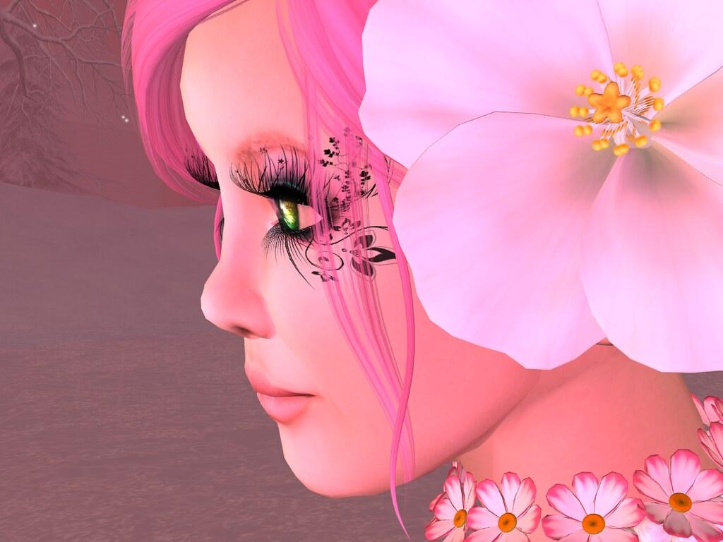 Flower in Winter Cotton Candy Blogpost Skin De la Soul A…