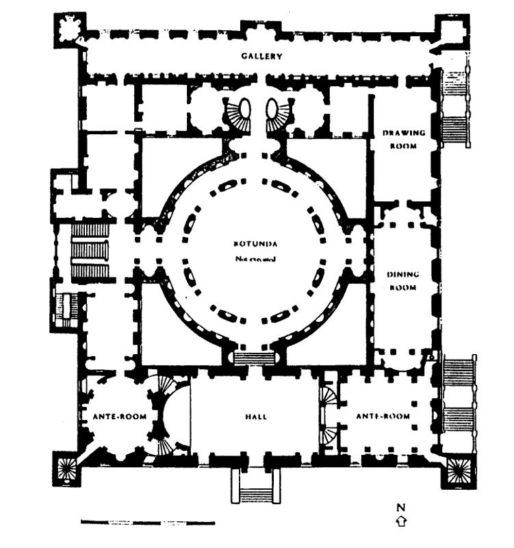 Doc109 13514 Ground Floor Plan Of Syon House By Robert A