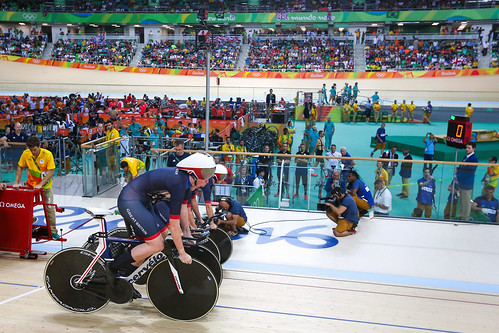 Rio 2016 - Olympic Games - track cycling day 1
