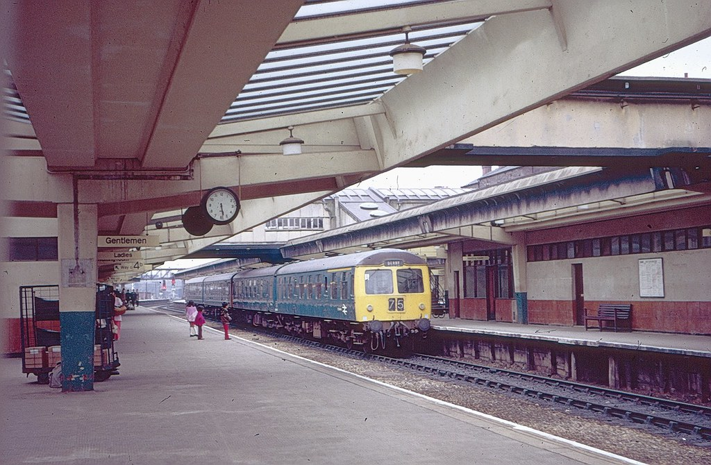 Derby Station In 1972 Surrounded By Some Of The Lms