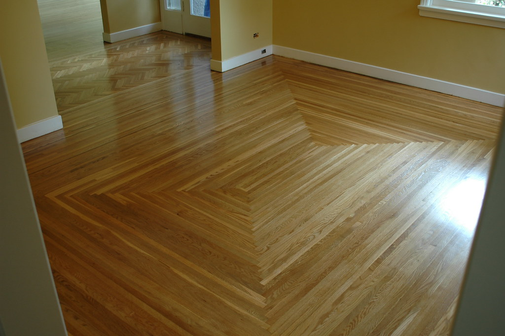 Patterned white oak hardwood floor vancouver www for Hardwood floors vancouver