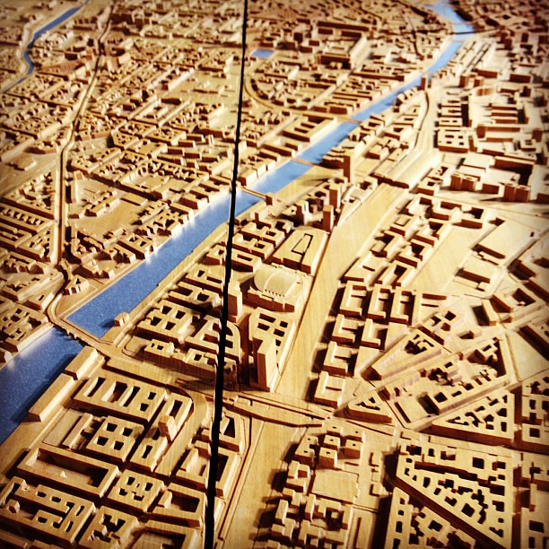 glorious berlin relief map at modulor art supply store flickr. Black Bedroom Furniture Sets. Home Design Ideas