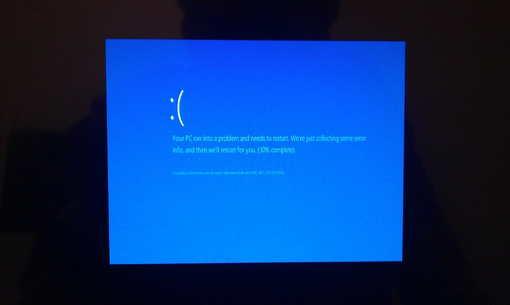 Blue Screen of Death Windows 8 Causes Windows 8 Blue Screen of