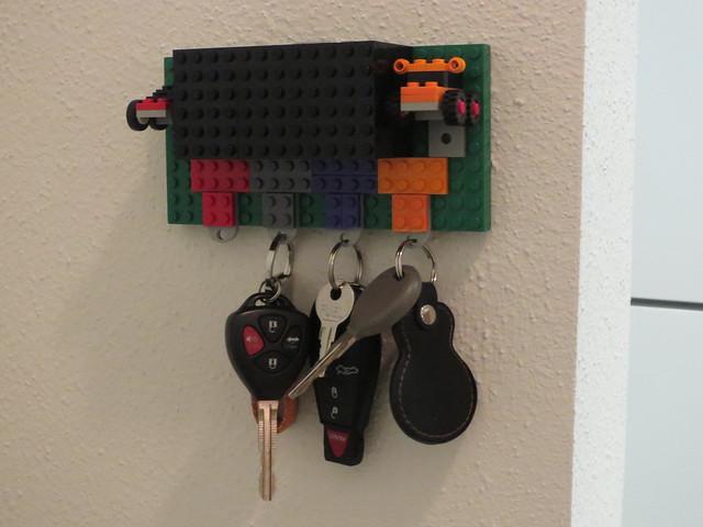 Lego Key Holder Inspired By Boing Boing Flickr Photo