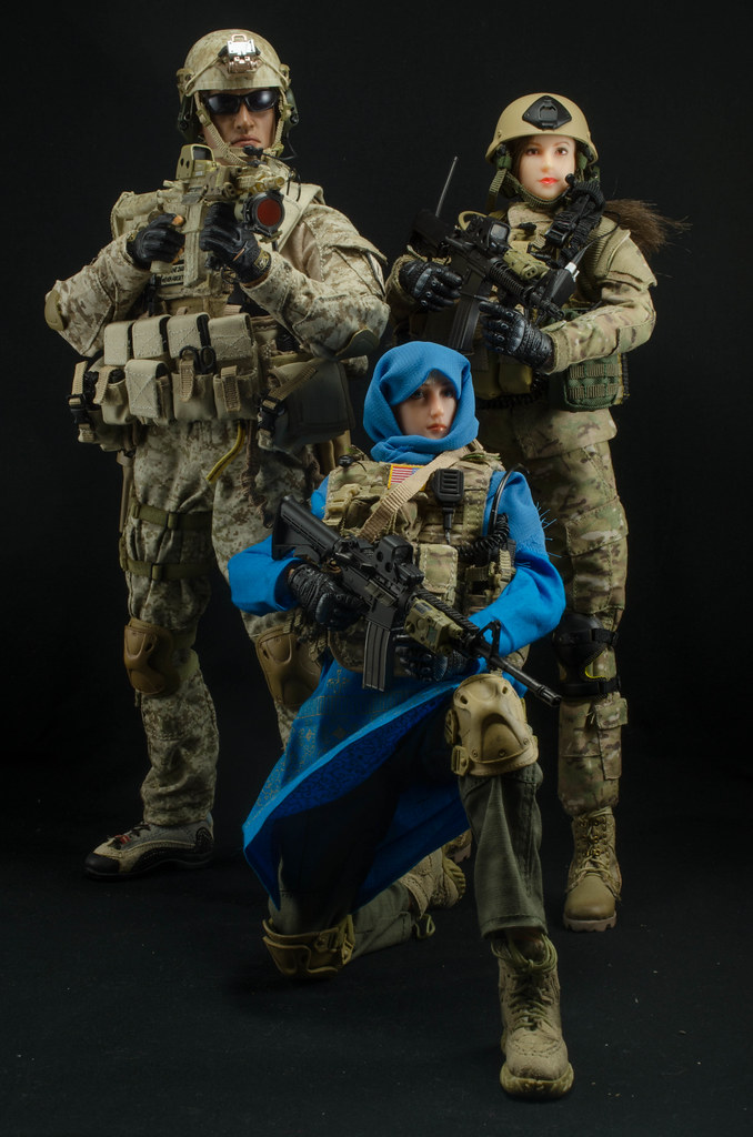 Navy SEAL Team 3 NSW Intel Officer Army Special Forces C