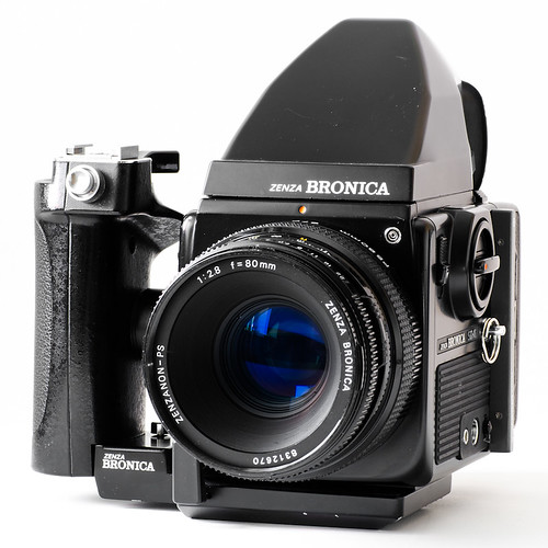 Bronica SQ-Ai + Zenzanon-PS 80mm f/2.8 - Thought it was ...