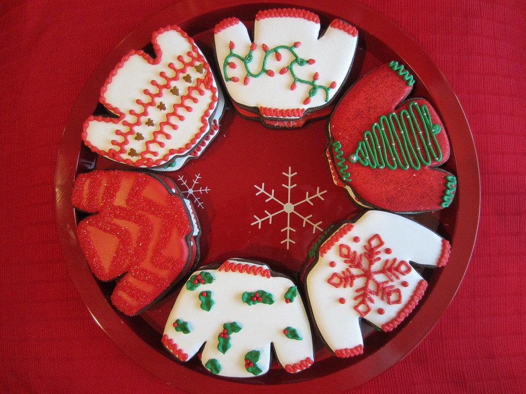 Ugly Sweater Cookies At Church We Had An Ugly Sweater Part Flickr