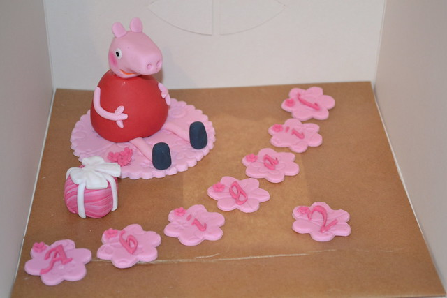 peppa pig cake topper flickr photo