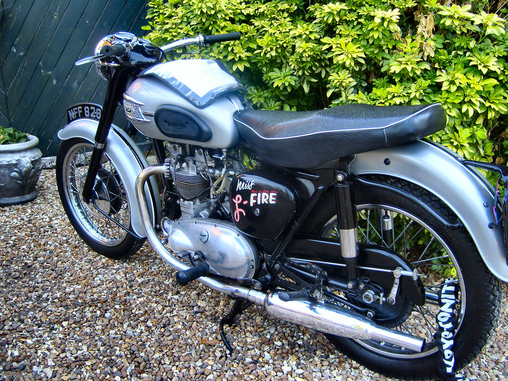 CLASSIC TRIUMPH TIGER 100.UK