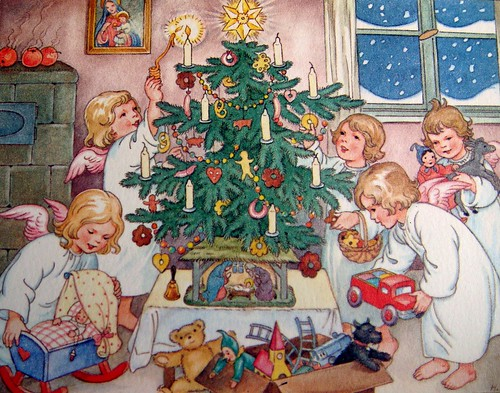 Kerst engelen - Christ...