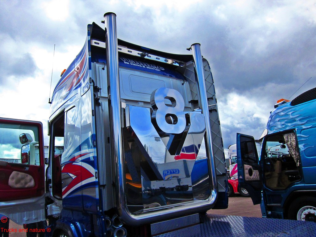 Scania v8 Logo Scania v8 Stacks by