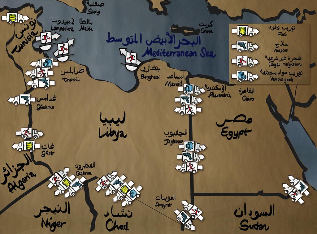 Smuggling map libya tunisia egypt v05 playability smuggling map libya tunisia egypt v05 by playabilityde gumiabroncs Choice Image