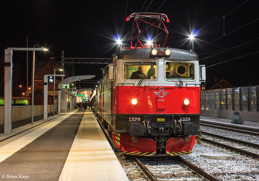 sj nattåg stockholm luleå