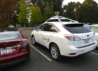 """Driving"" the Google Self-Driving Car 