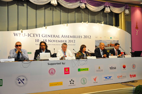 WIPO Director General Participates in General Assemblies of WBU and ICEVI | by WIPO | OMPI