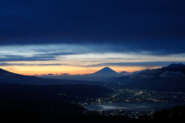 朝焼け / 高ボッチ山