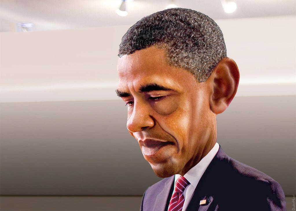 Barack Obama - Caricat...