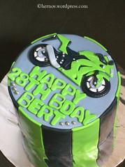 Fox Racing Cake Pan