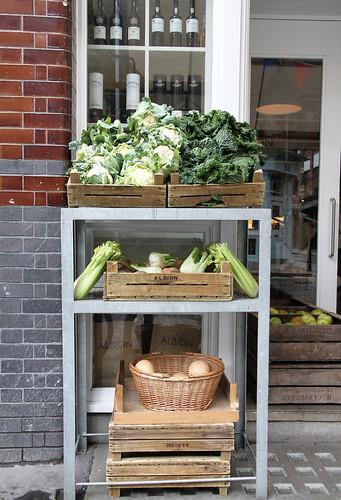 Food Store Albion Street Brunsweek