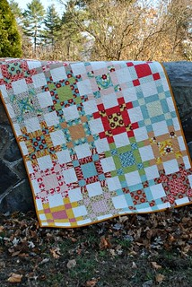 Crossroads quilt pattern by Sweet Jane, boho fabric by Urban Chiks | by sweetjanequilting