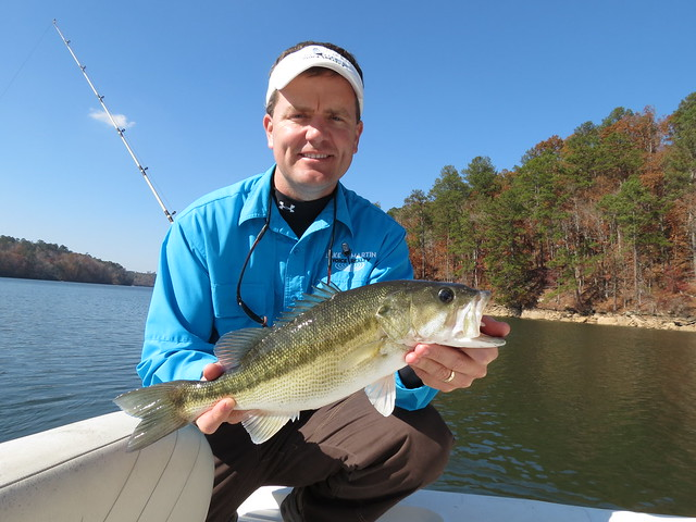 Striper fishing on lake martin with alex city guide for Lake martin fishing