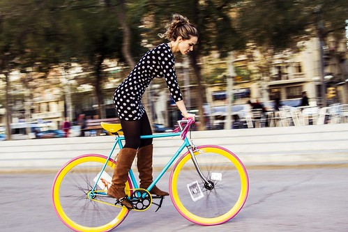 Colorful bike | by Barcelona Cycle Chic