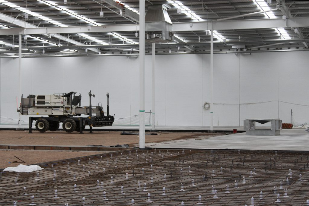 ... Pouring The Concrete Slab Inside A New Bunnings Warehouse | By Marcus  Wong From Geelong