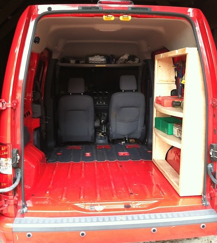 Ford Transit Connect Camper Conversion >> Shelf for the Ford Transit Connect | Ford Transit Connect RV… | Flickr