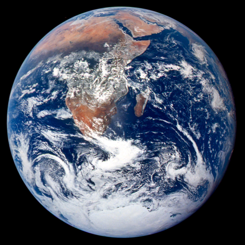 The Blue Marble From Apollo 17 Nasa Image Acquired Dec 7