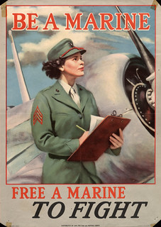 """Be a marine...free a marine"" 