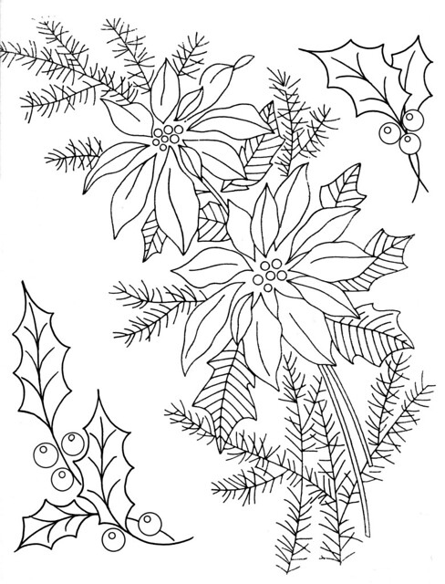 Image Result For Christmas Holly Coloring