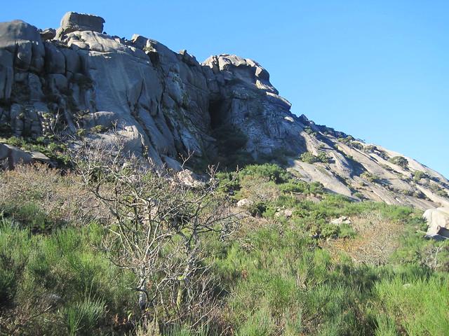 Cova Casa da Xoana en el monte Pindo