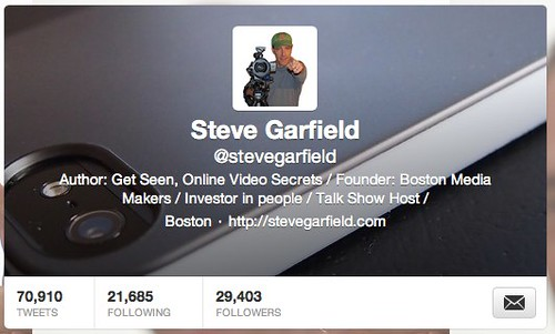 Steve Garfield (stevegarfield) on Twitter | by stevegarfield